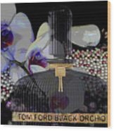 Tom Ford Black Orchid Wood Print