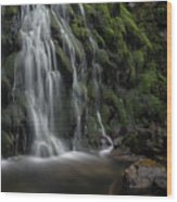Tom Gill Waterfall, Cumbria, England Wood Print