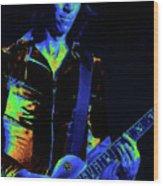 Cosmic Guitar 3 Wood Print