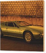 Tomaso Mangusta Mixed Media Wood Print