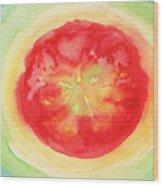 Fresh Tomato Wood Print