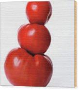 Tomatoes Wood Print