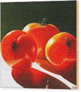 Tomayta Tomato Wood Print