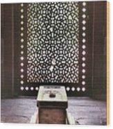 Tomb At The Humayun Temple Complex Wood Print