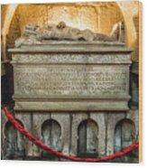 Tomb Of Dom Henrique Wood Print