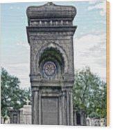 Tomb Of General P G T Beauregards Daughter Wood Print