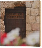 Tomb Of Jesus Wood Print