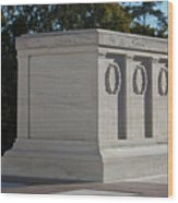 Tomb Of The Unknown Soldier, Arlington Wood Print by Terry Moore