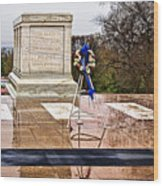 Tomb Of The Unknown Soldiers Wood Print