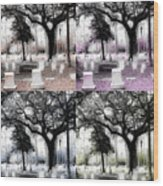 Tomb Stones Of Many Prayers Wood Print