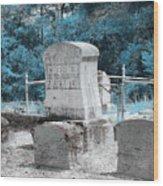 Tombstone Amiss Wood Print