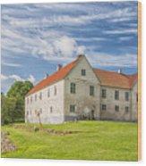 Tommarps Kungsgard Slott Wood Print