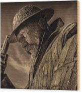 Tommy, 1101 Wood Print