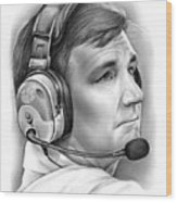 Tommy Bowden Wood Print