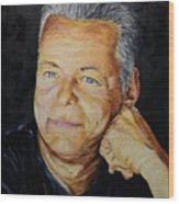 Tommy Emmanuel Guitar Virtuoso Wood Print