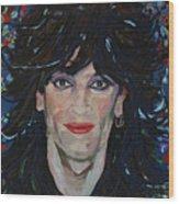Tommy Lee 80s Hair Bands Motley Crue Wood Print