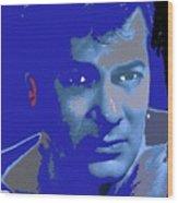 Tony Curtis Circa 1960 Color Added 2012 Wood Print