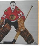 Tony Esposito Wood Print by Brian Schuster