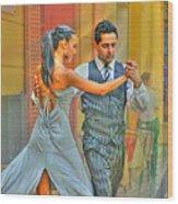 Too Tango Wood Print