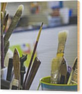 Tools Of The Trade Wood Print