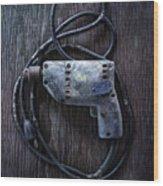 Tools On Wood 28 Wood Print