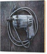 Tools On Wood 30 Wood Print