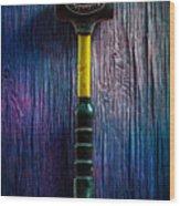 Tools On Wood 44 Wood Print
