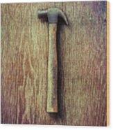 Tools On Wood 53 Wood Print