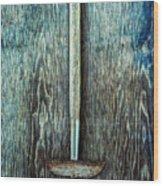 Tools On Wood 55 Wood Print