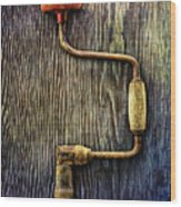 Tools On Wood 58 Wood Print