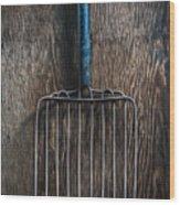 Tools On Wood 66 Wood Print