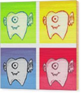 Tooth Fairies Wood Print by Jera Sky