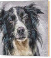 Top Dog Wood Print