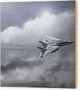 Top Gun Wood Print