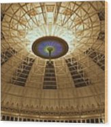 Top Of The Dome Wood Print