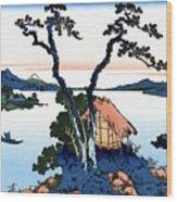 Top Quality Art - Mt,fuji36view-shinshu Suwako Wood Print