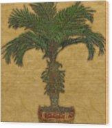 Topiary 3 Wood Print
