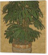 Topiary 4 Wood Print