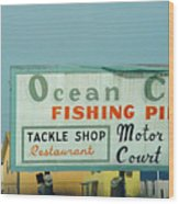 Topsail Island Ocean City 1996 Wood Print