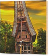 Toraja Architecture Wood Print