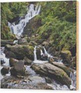 Torc Waterfall In Killarney National Wood Print