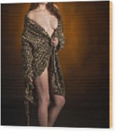 Toriwaits Nude Fine Art Print Photograph In Color 5078.02 Wood Print