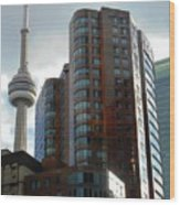 Toronto 1 Wood Print