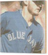 Toronto Blue Jays Josh Donaldson 4 Wood Print