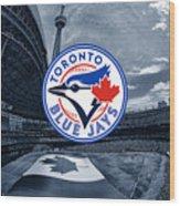 Toronto Blue Jays Mlb Baseball Wood Print