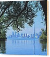 Toronto Framed Wood Print