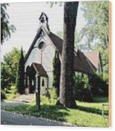 Toronto Island Chapel Wood Print