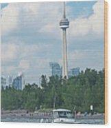 Toronto Island  Wood Print