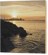 Toronto Lakeshore Vortex - Wood Print