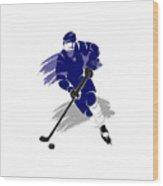 Toronto Maple Leafs Player Shirt Wood Print
